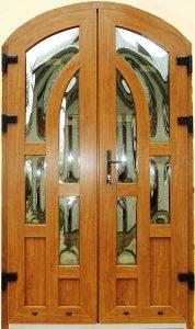 Двери входные REHAU Золотой Дуб