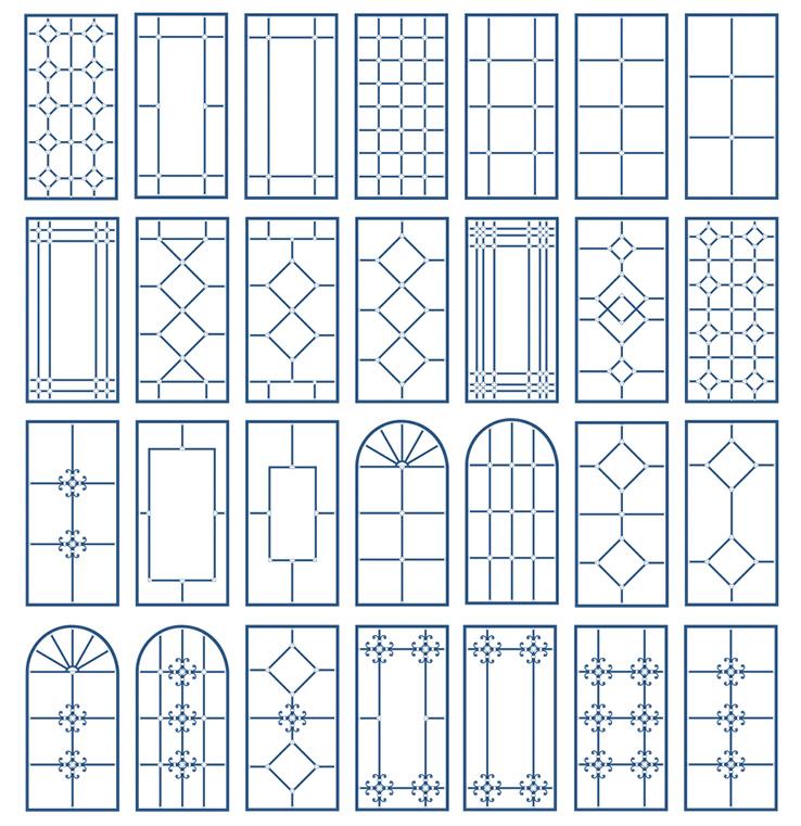 Декоративная раскладка на окна купить