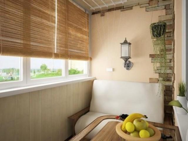 Теплый балкон Фасад Пласт